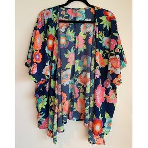 Roxy | Floral Cover Up | XS